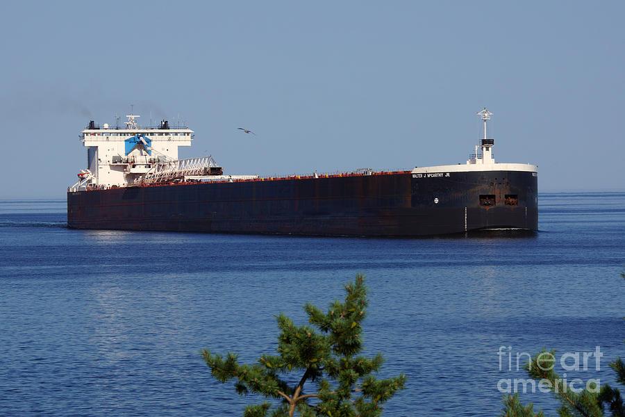 Ship Photograph - Walter J Mccarthy Jr Ship by Lori Tordsen