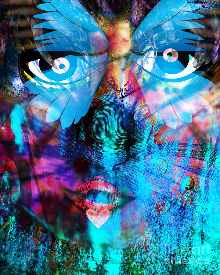 Fania Simon Digital Art - Wandering Thoughts - Untitled Desire by Fania Simon