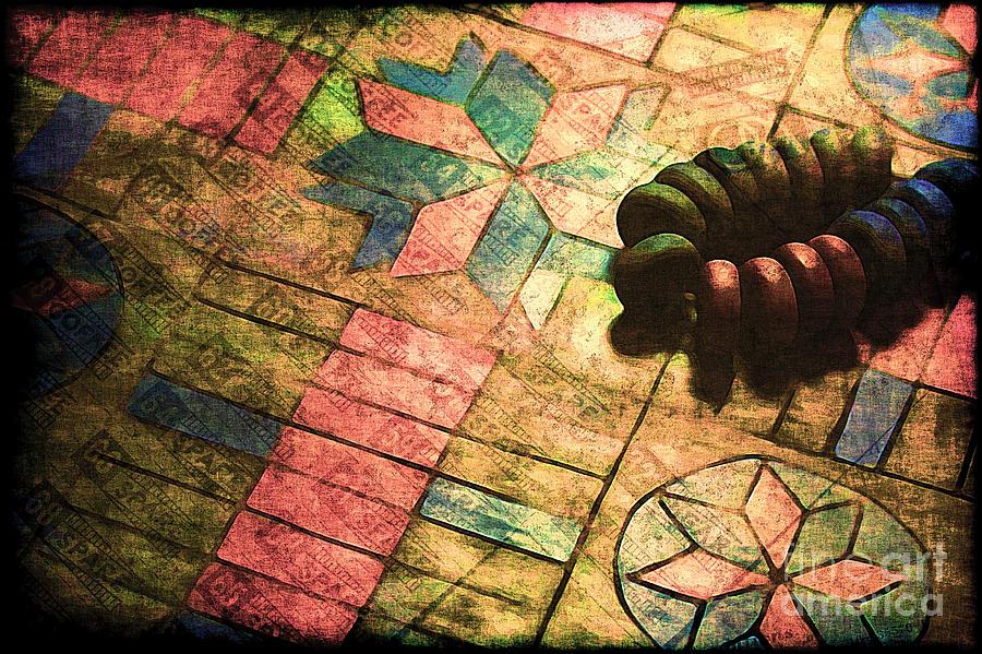 Parcheesi Photograph - War Games by Judi Bagwell