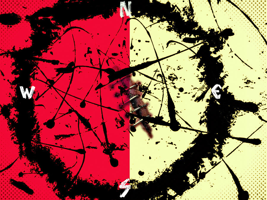 Abstract Digital Art - War by Joseph Ferguson