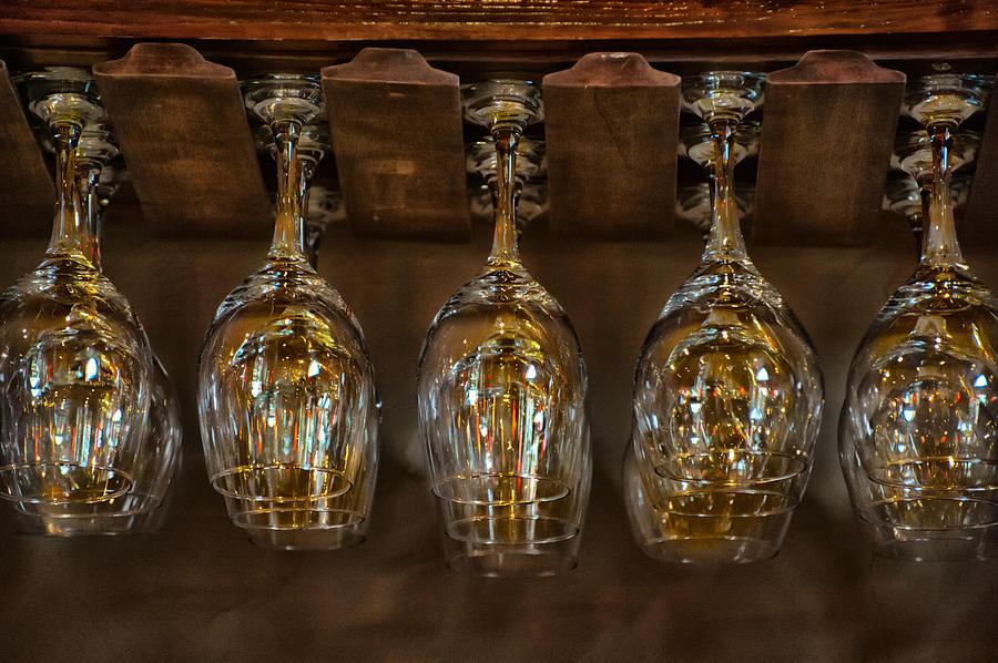 Wine Photograph - Warm Reflections by Brenda Bryant