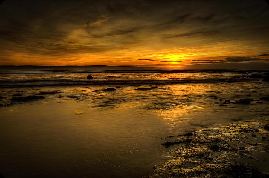 Bay Photograph - Warmth Of Light by Svetlana Sewell