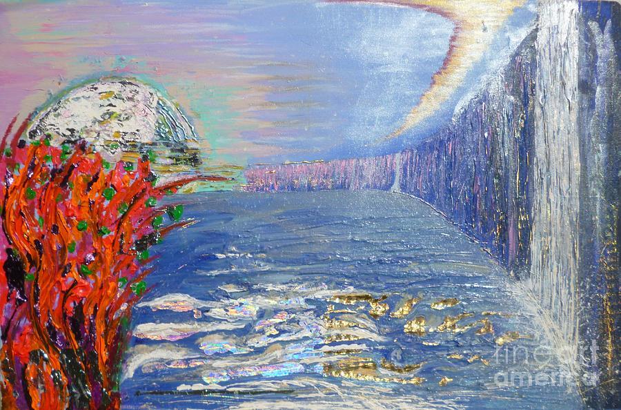 Australia Painting - Warratah View by Matt Gregor