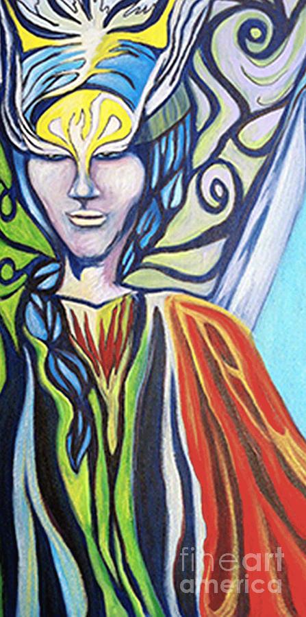 Warrior Painting - Warrior by Laura Salazar