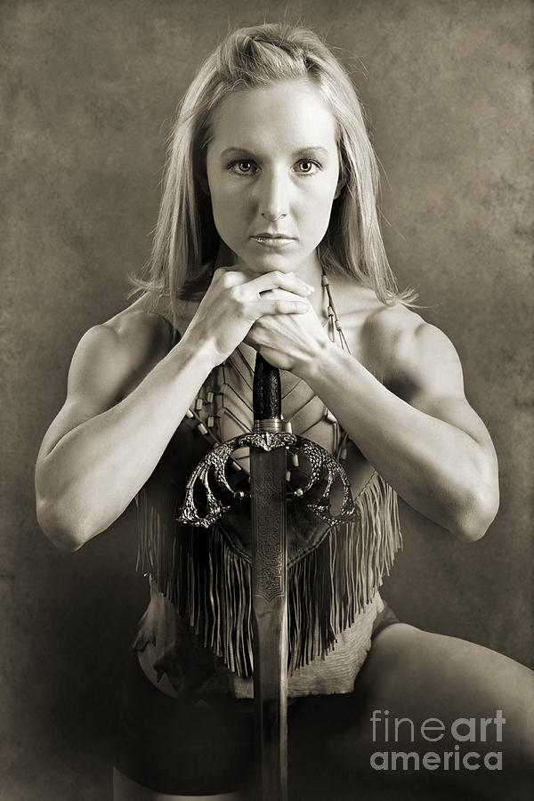 Woman Photograph - Warrior Woman by Cindy Singleton