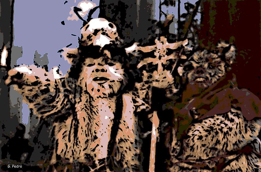 Ewok Photograph - Warriors by George Pedro