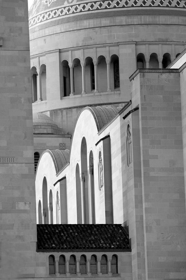 Washington Dc Basilica Photograph - Washington Dc Basilica 3 by Pablo  De Loy