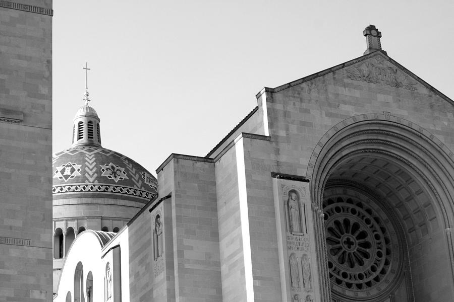 Washington Dc Basilica Photograph - Washington Dc Basilica by Pablo  De Loy