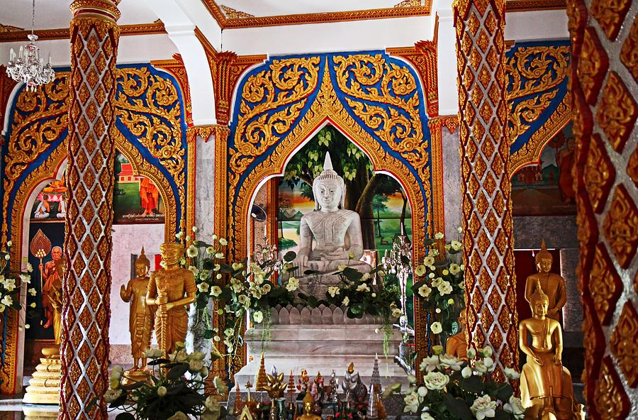 Metro Photograph - Wat Chalong 4 by Metro DC Photography