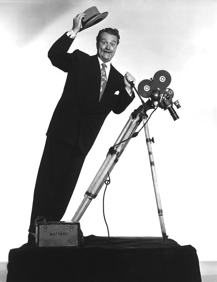 1950 Movies Photograph - Watch The Birdie, Red Skelton, 1950 by Everett