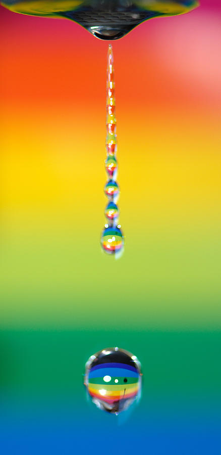 Vertical Photograph - Water Dripping by Kelly Doong