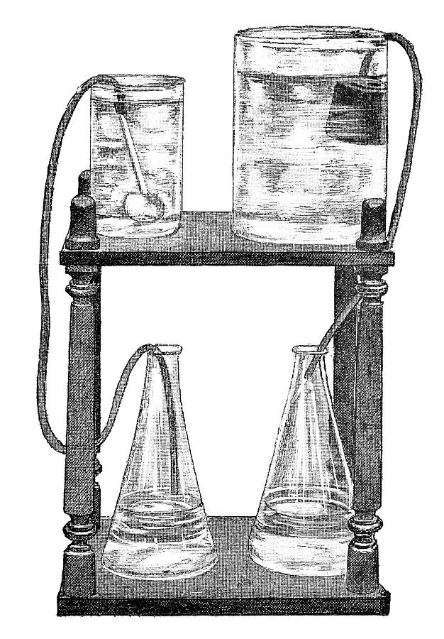 Experiment Photograph - Water Filters, 19th Century by