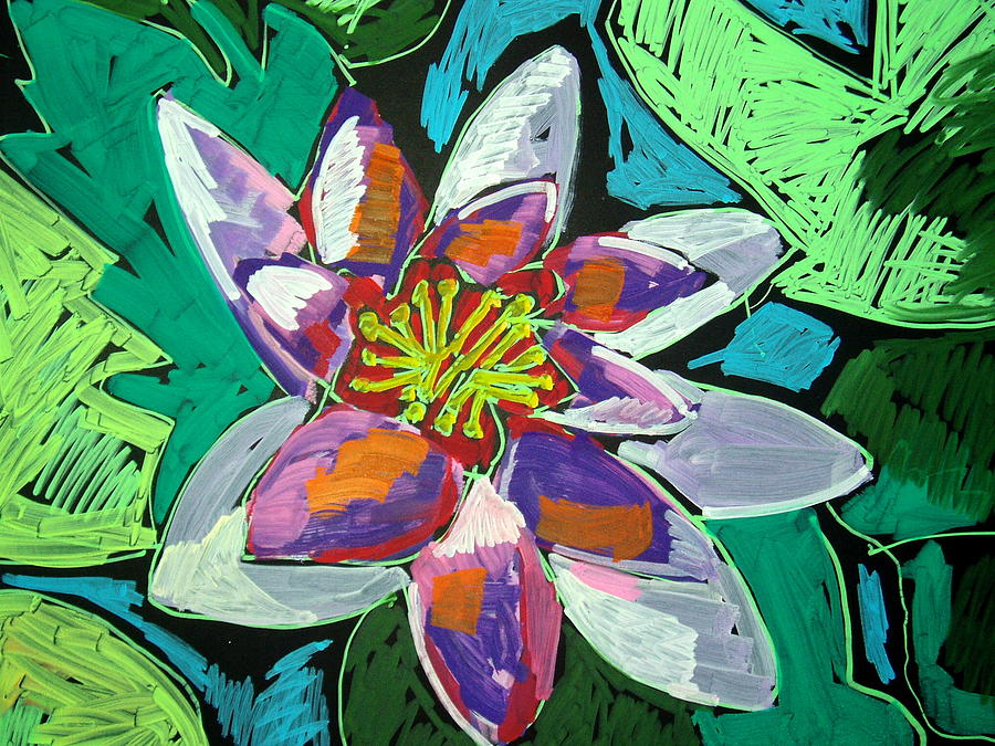 Water Lilly by Doris  Lane Grey