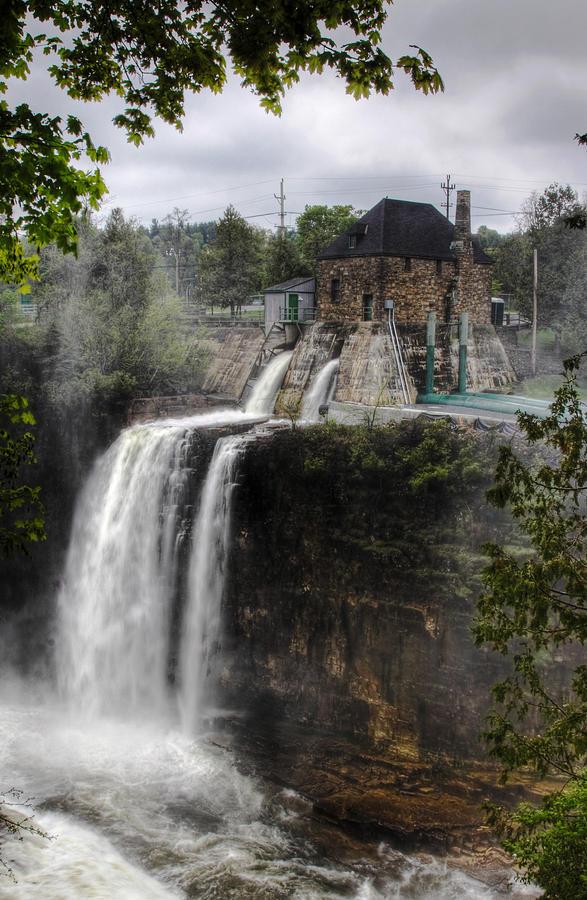 Waterfalls Photograph - Water Power Generator by Kean Poh Chua