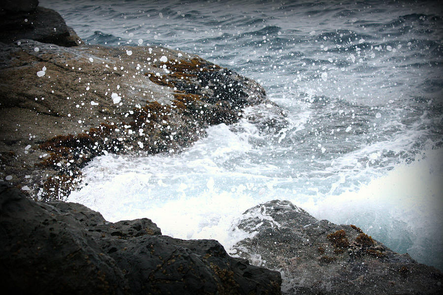Water Photograph - Water Splash by Kevin Flynn