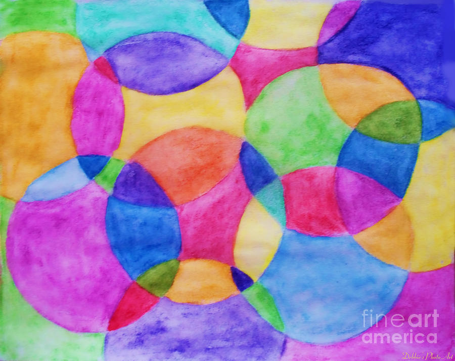 to wear - Circle Abstract painting video
