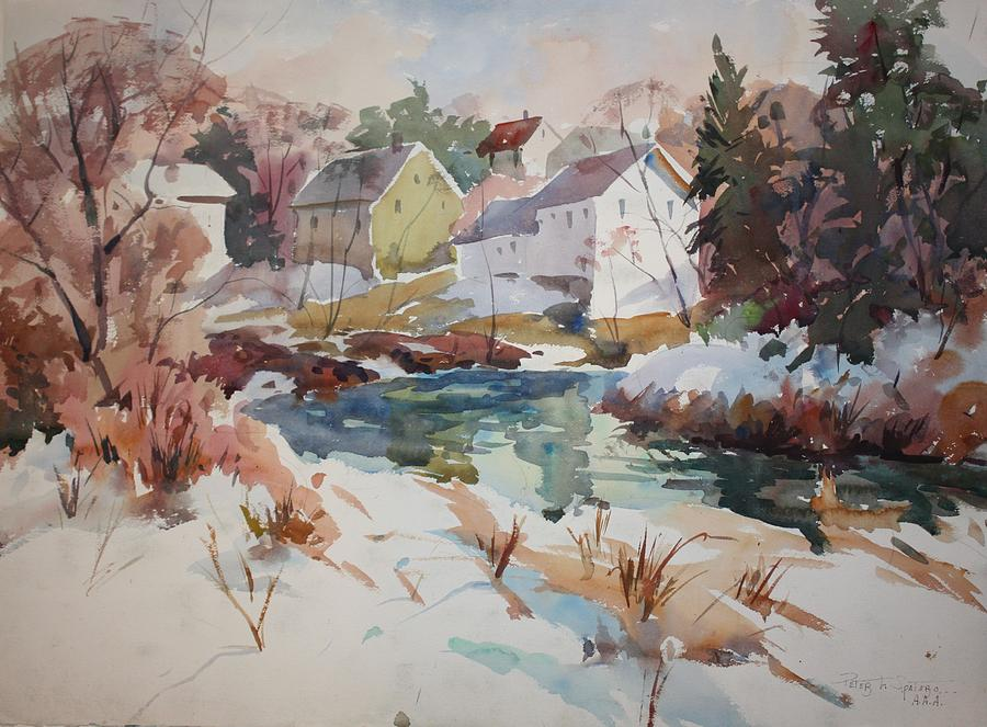 Watercolor Painting - Watercolor by Peter Spataro