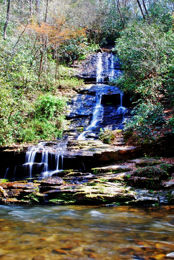 Waterfall Photograph - Waterfall by Carrie Munoz