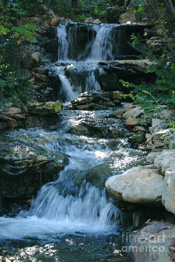 Waterfall Photograph - Waterfall by DiDi Higginbotham