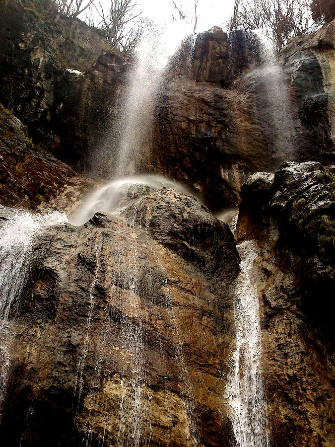Waterfall Photograph - Waterfall by Lucy D