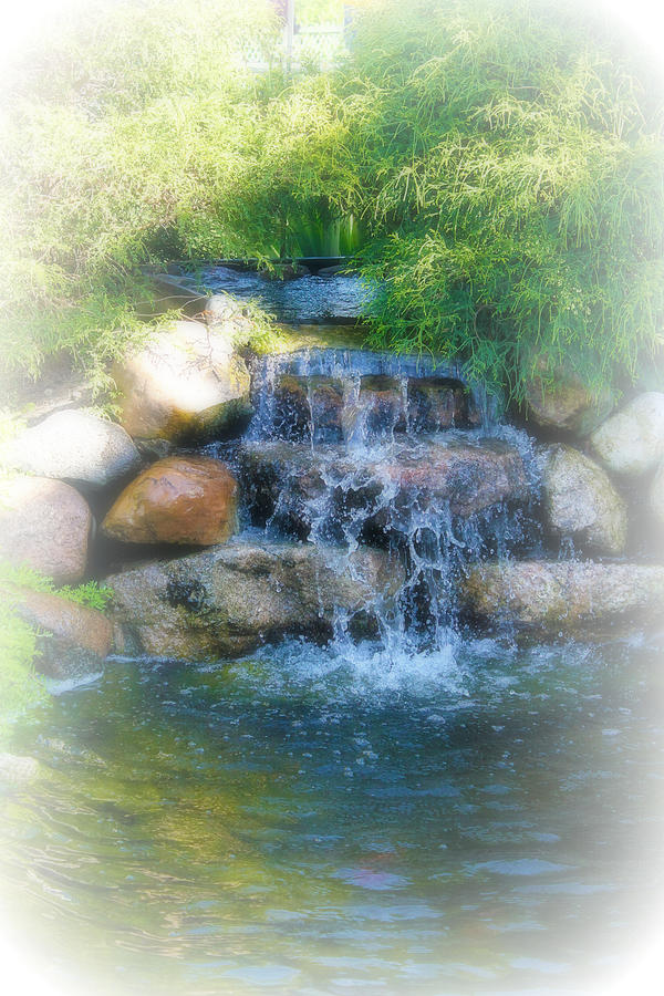 Water Photograph - Waterfall by Rebecca Frank