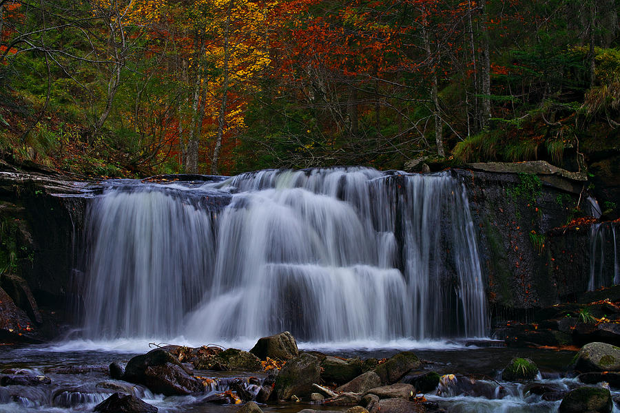 Waterfall Svitan by Ivan Slosar