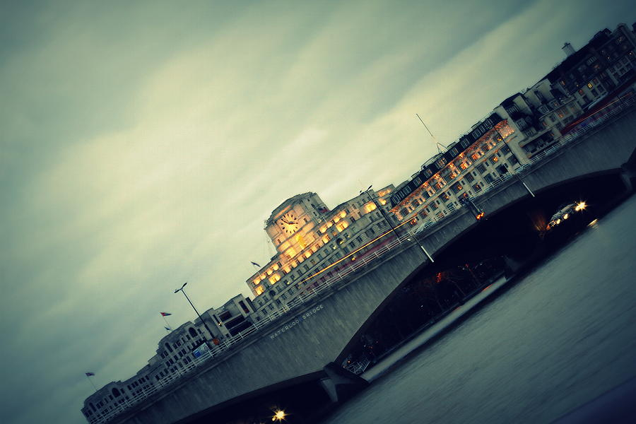 Waterloo Photograph - Waterloo Bridge by Jacqui Collett