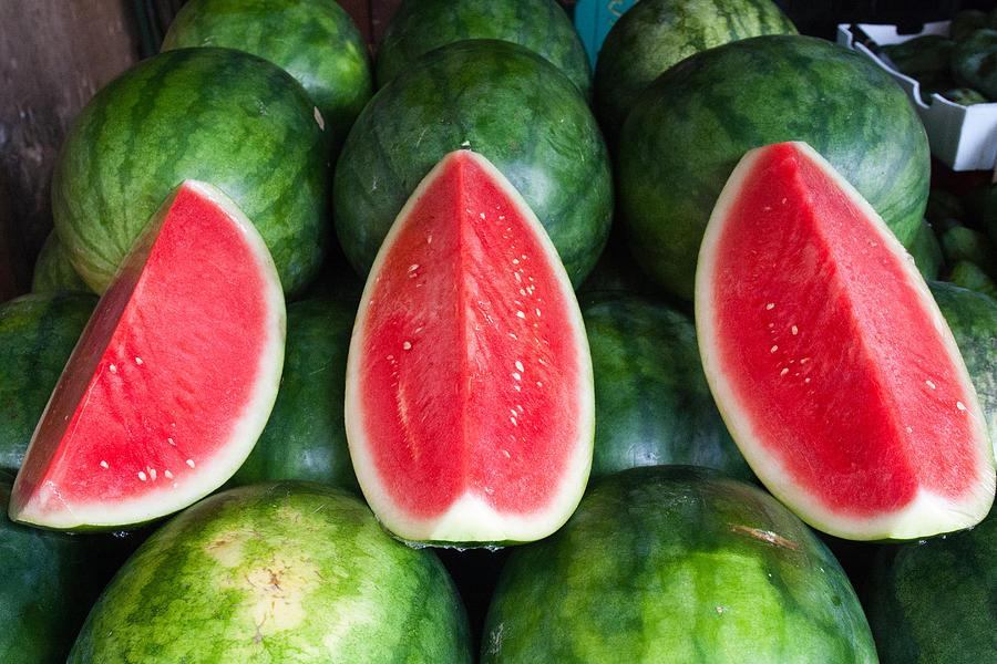 Horizontal Photograph - Watermelons by Andrew W.B. Leonard