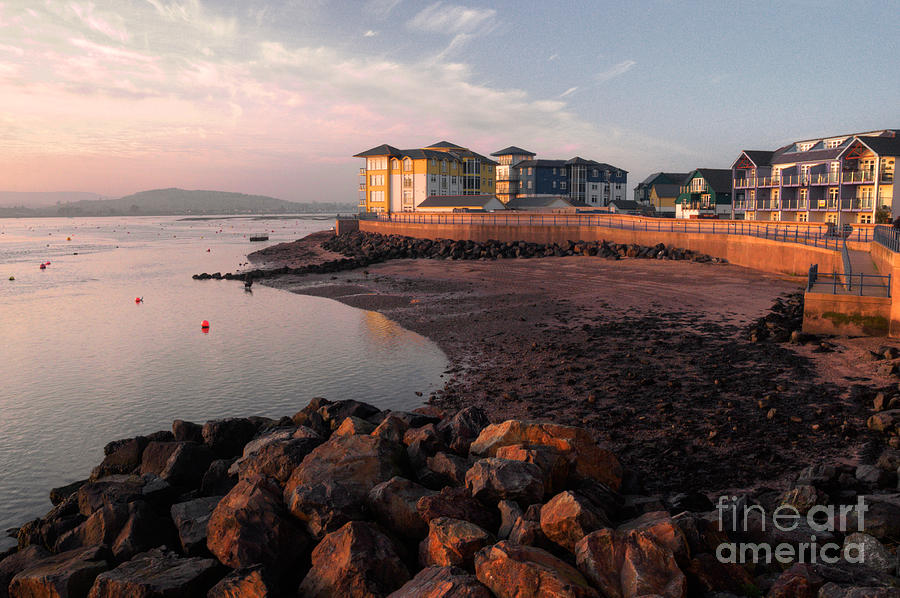 Exmouth Photograph - Waterside At Exmouth by Rob Hawkins