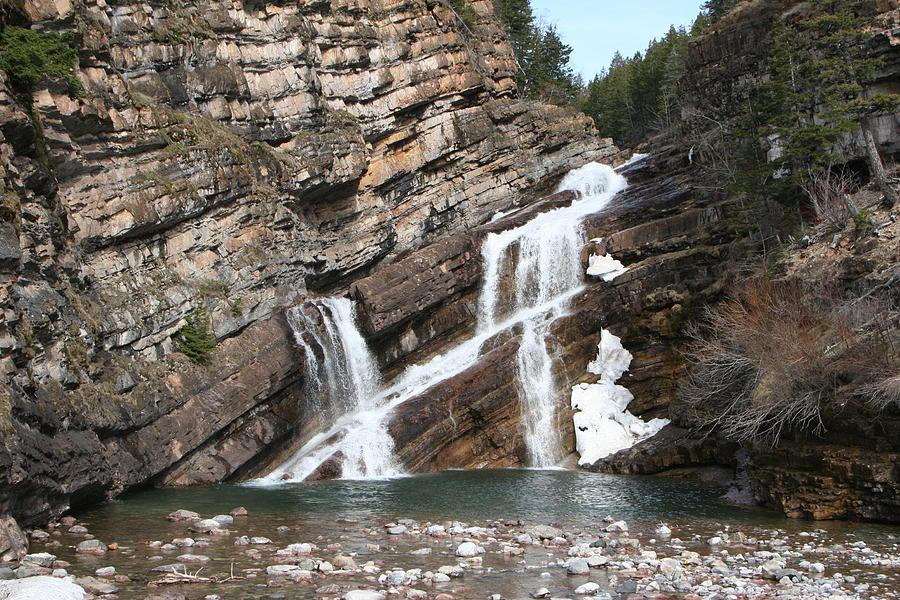 Cameron Falls - Waterton Lakes National Park, Alberta Photograph