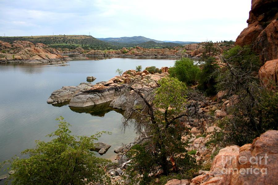Prescott Photograph - Watson Lake 2 by Julie Lueders
