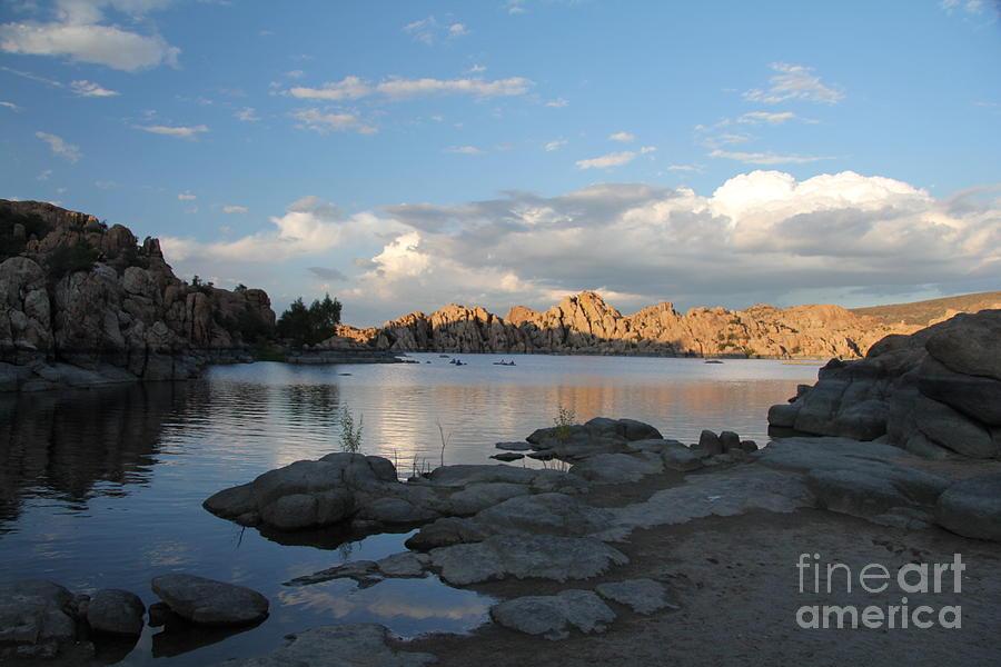 Watson Lake Photograph - Watson Lake 5  by Diane Greco-Lesser
