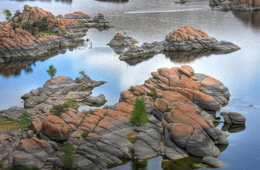 Landscape Photograph - Watson Lake by Michael Biggs