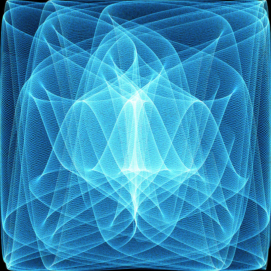 Waveform Photograph - Wave Patterns by Pasieka