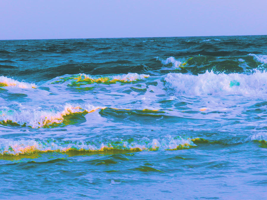 Waves Photograph - Waves by Debra Webb