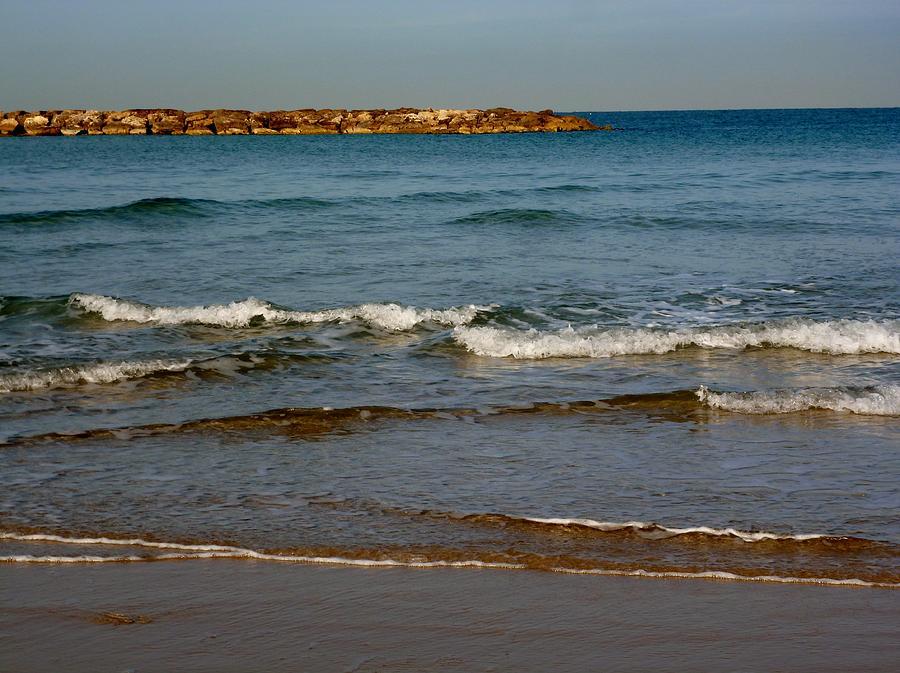 Beach Photograph - Waves by Jennifer Wartsky