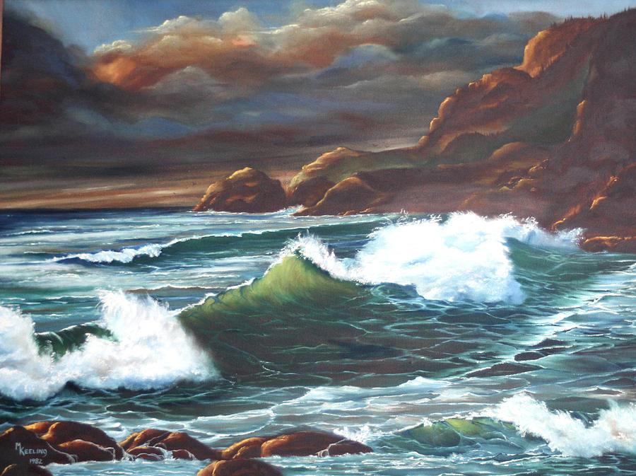 Waves by Meg Keeling