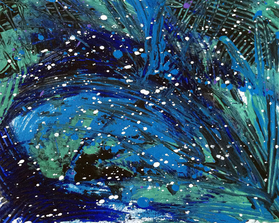 Texture Painting - Waves Of Emotion by Bethany Stanko