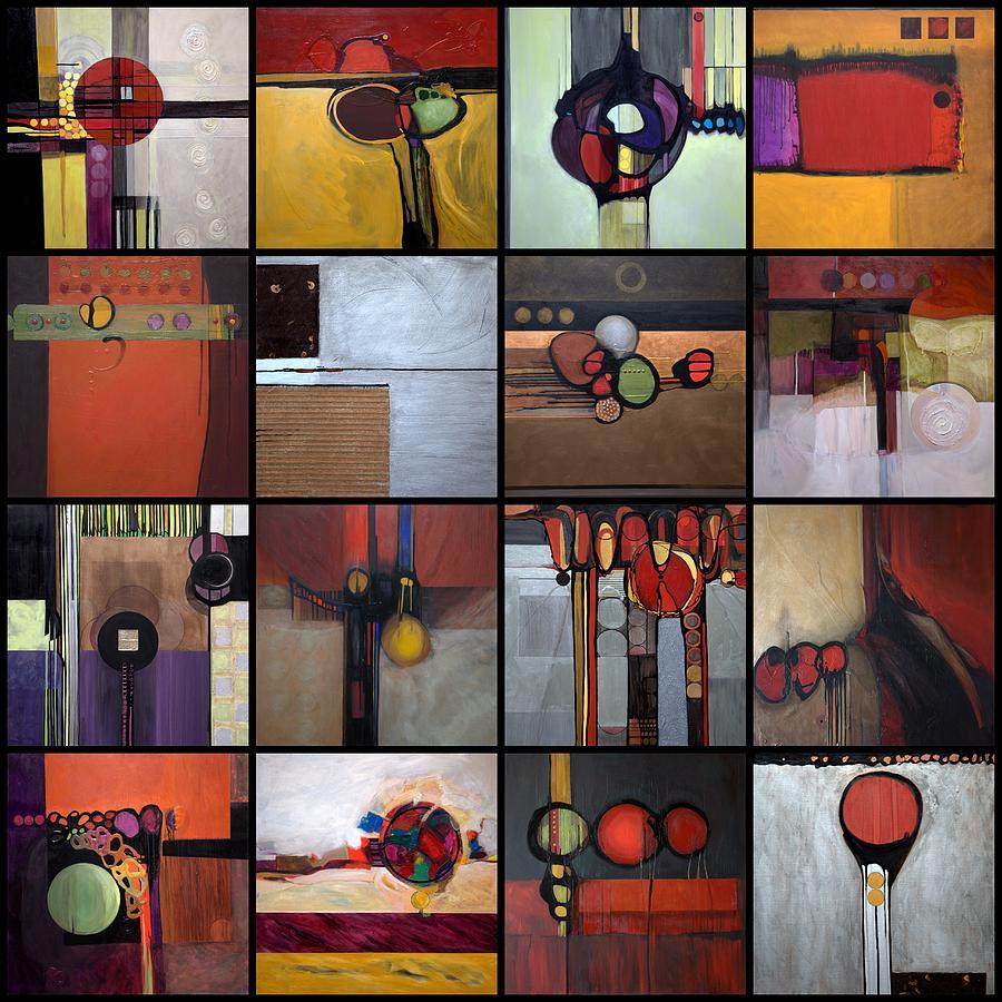 Wavin 39 buy buy painting by marlene burns for Buy mural paintings