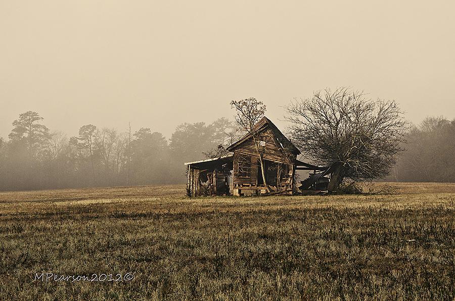 Barn Photograph - We All Fall Down by Megan Pearson