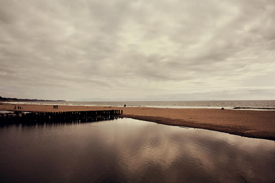 Beach Photograph - We Should Never Be Apart by Laurie Search