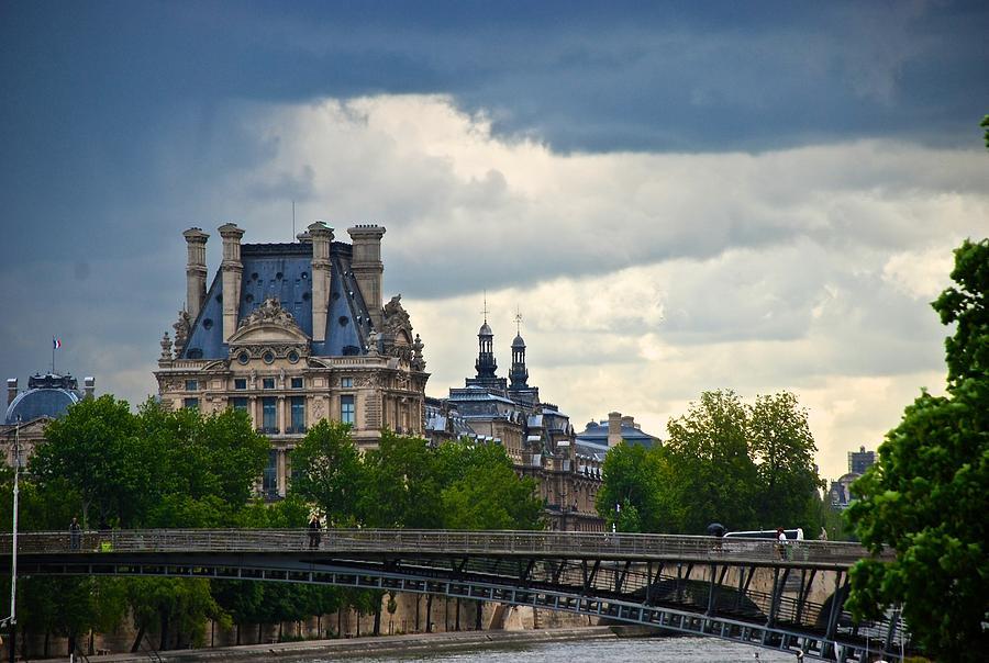 Paris Photograph - Weather In Paris by Eric Tressler