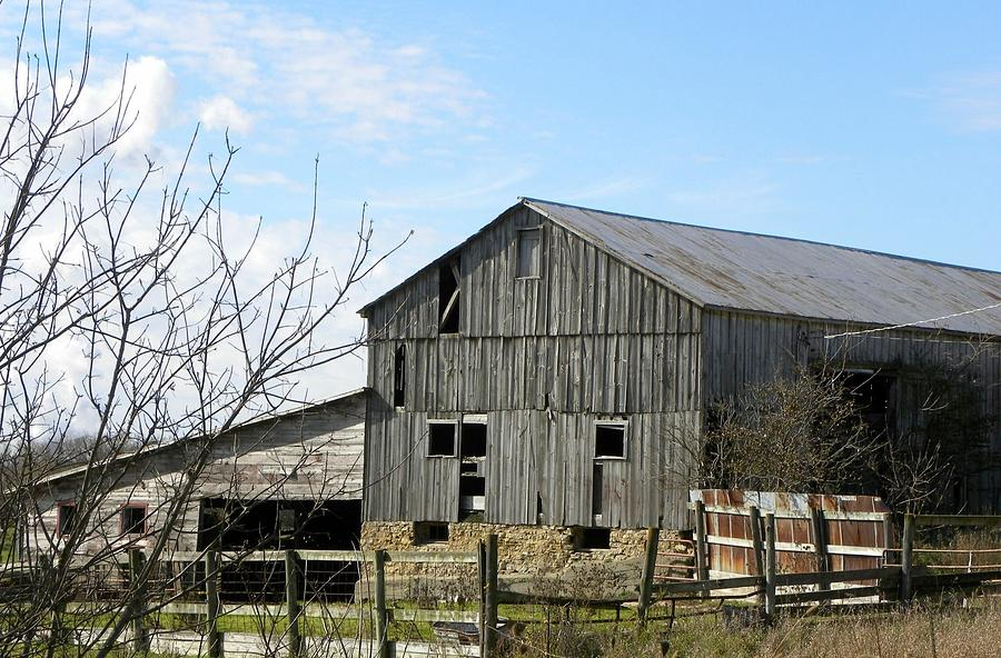 weathered barn photograph by brittany roth