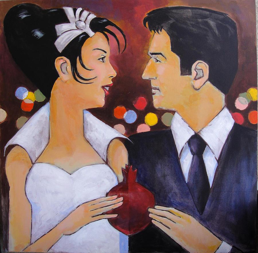 Love Painting - Wedding by Mehrdad Sedghi