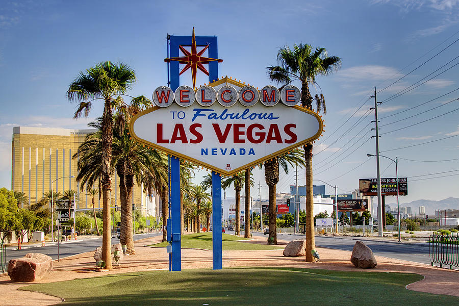 Welcome To Las Vegas Series Photograph By Ricky Barnard