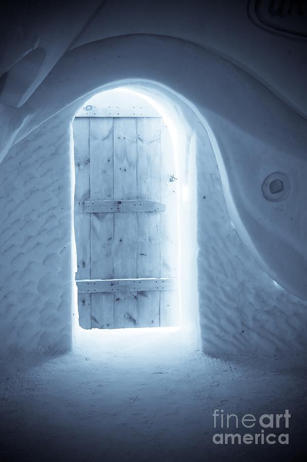 Ice Photograph - Welcome To The Ice Hotel by Sophie Vigneault