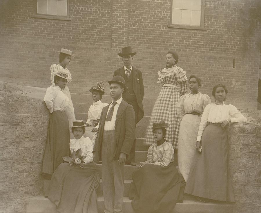 History Photograph - Well Dressed Young African American Men by Everett
