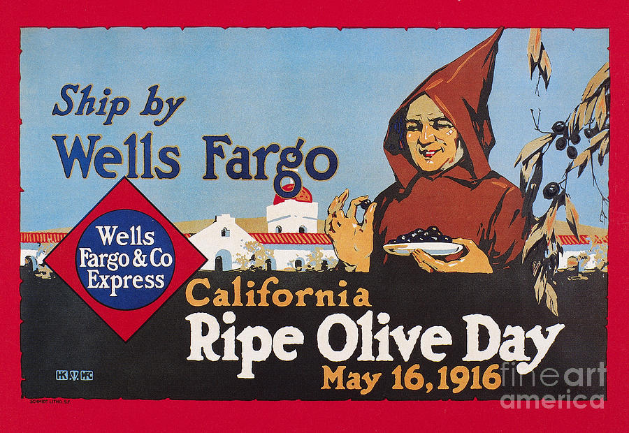1916 Photograph - Wells Fargo Express, 1916 by Granger
