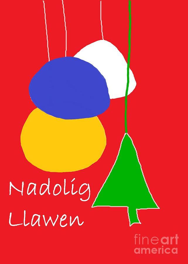 Welsh Christmas Card Digital Art
