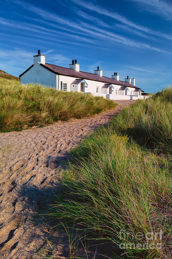 Anglesey Photograph - Welsh Cottages by Adrian Evans